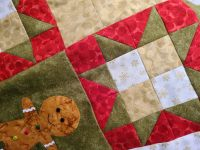 Gingerbread Christmas Quilt - Bondaweb, buttons and ric rac pack