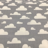 Michael Miller - Clouds on Grey CX7038- Sale by the Half meter