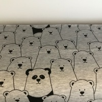 Cotton Jersey - Hide and Seek - by the half meter only