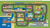 Clothworks - Things that Go Playmat/Panel  Y3032-55