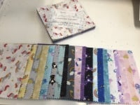 Lewis and Irene Pre cut 5 inch squares - Small Things Mystical and Magical