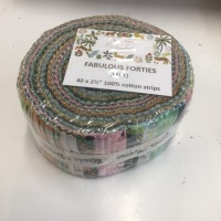 Lewis and Irene pre cut 40 x 2.5 inch wof strips - Panthera