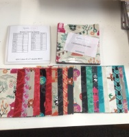 Lewis and Irene Pre cut 5 inch squares - Minshan Chinese inspired fabrics
