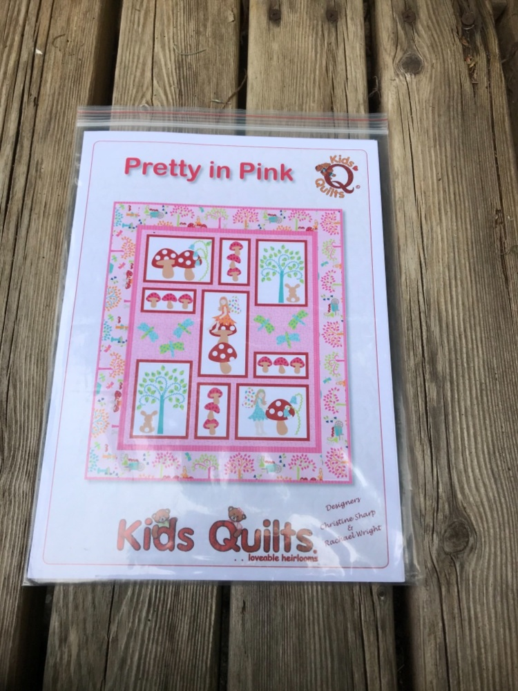 Kids Quilts - Pretty in Pink Quilt pattern