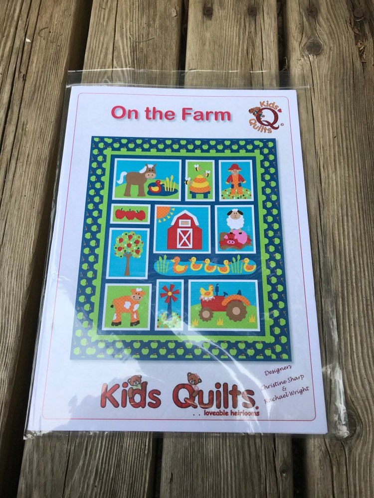 Kids Quilts - On the Farm Quilt pattern