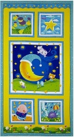 Blank Quilting - Rhyme Time panel p8687