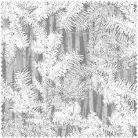 Henry Glass  Holiday Cheer - Grey Branches 9690- LAST 75cms should be £8.25 now £7.00