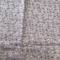 Lynette Anderson Summer Holiday Dots on Dusky Pink LAST 3 x 1/2 meters