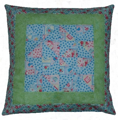 Perfect Pinwheels Patchwork Cushion Pattern