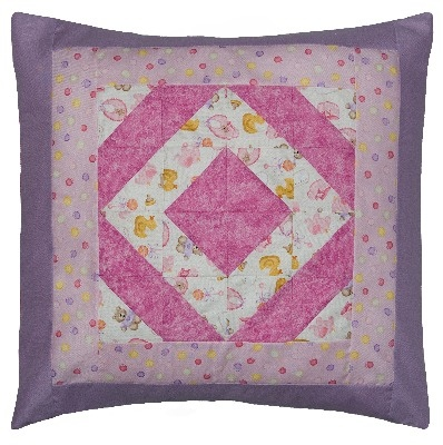 Patchwork Baby Cushion Pattern