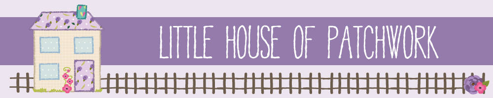The Little House of Patchwork, site logo.