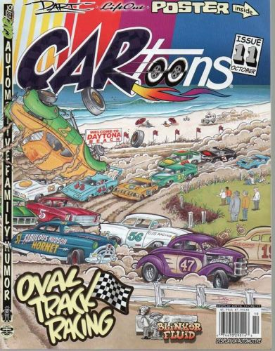 CARtoons mag # 11 with poster