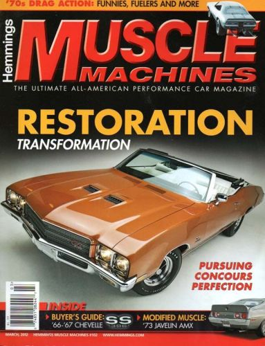 Muscle Machines    March2012