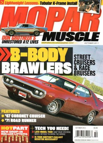 Mopar Muscle    October2011