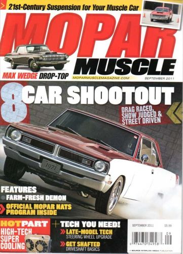 Mopar Muscle    September2011