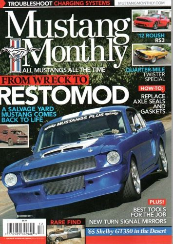 Mustang Monthly    December2011