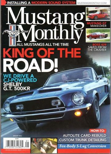 Mustang Monthly    January2012