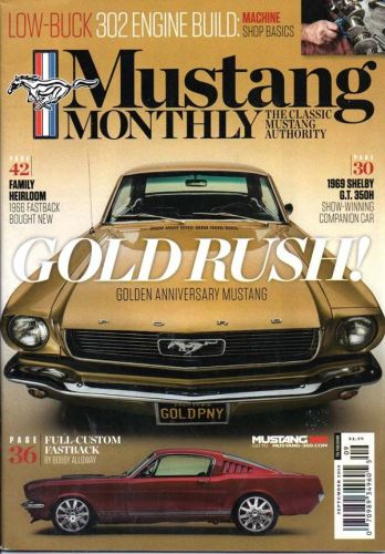 Mustang Monthly    September2018