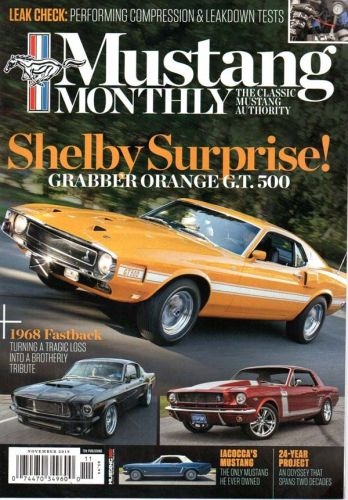 Mustang Monthly    November2019