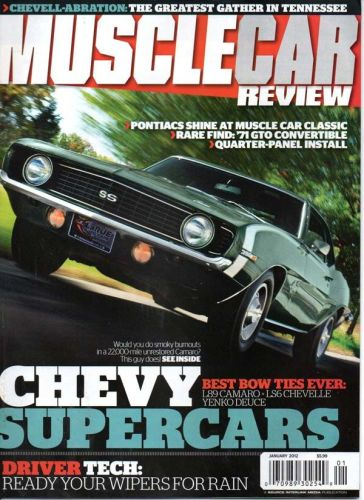 Musclecar Review    January2012