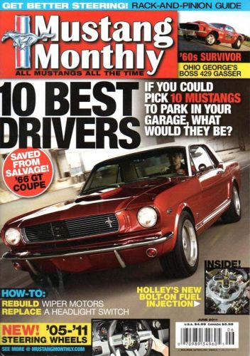 Mustang Monthly     June2011