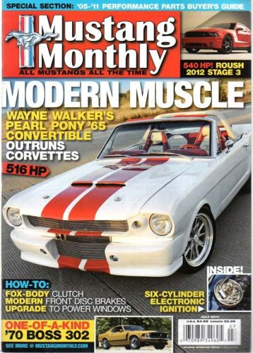 Mustang Monthly     July2011