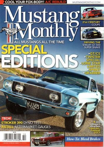 Mustang Monthly     October2012