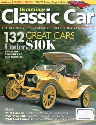 Classic  Car     May2007