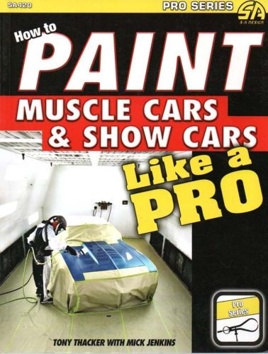 how to paint muscle cars