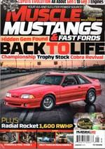MUSCLE MUSTANGS / FAST FORDS