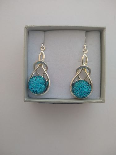 Round Knot Ear-rings