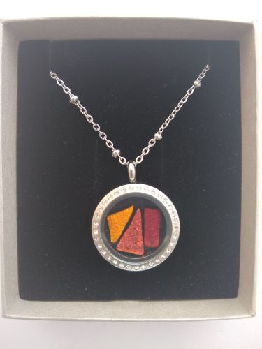 Crystal memory locket