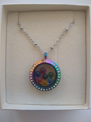Rainbow Memory Locket