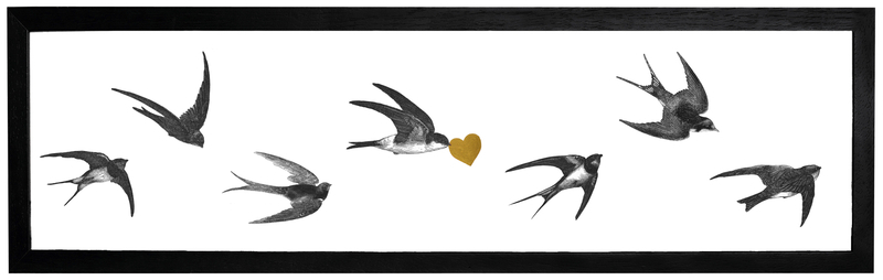 Swallows Cut Out