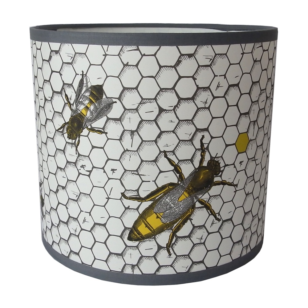 The Hive - Honey Bees Lampshade - Sample