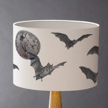 Bat by Moonlight Lampshade