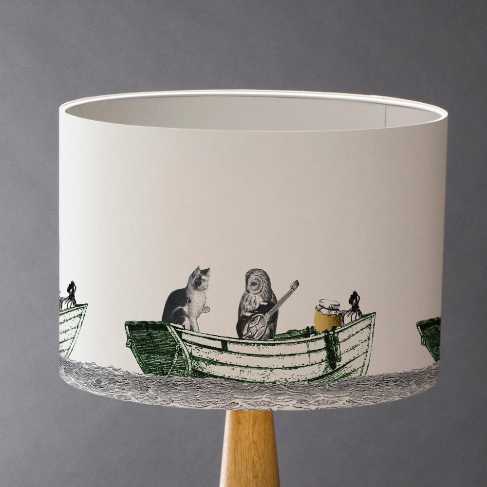 Owl & Pussycat Lampshade