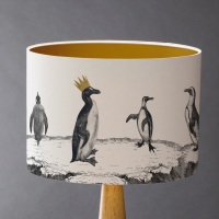 Penguins On Parade Lampshade