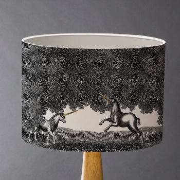 Some Enchanted Evening - Unicorns Lampshade