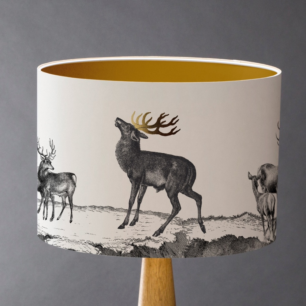 STAG! - Deer Lampshade