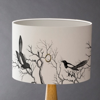 Mischief Makers - Magpies Lampshade