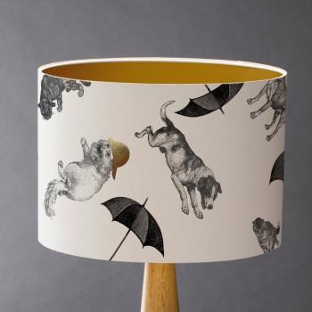 Raining Cats & Dogs Lampshade