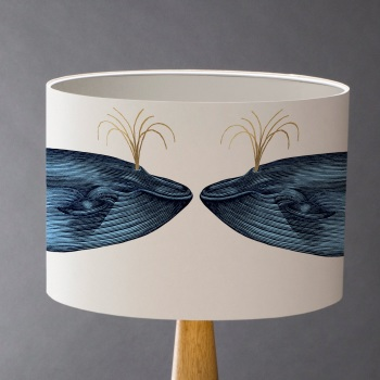 Blue Whale Lampshade