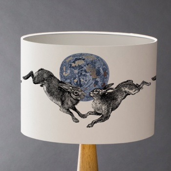 Hare Moon Lampshade