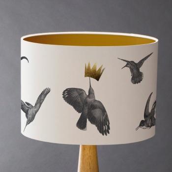 Hummingbird Lampshade