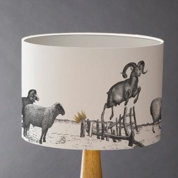 Jumping Sheep Lampshade