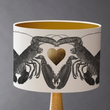 Lobster Love! Lampshade