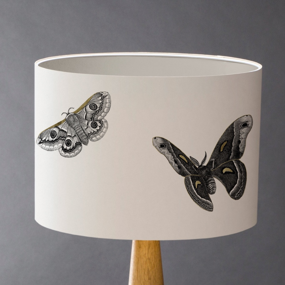 Moths to a Flame Lampshade