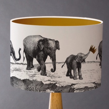 Sample Elephants Lampshade