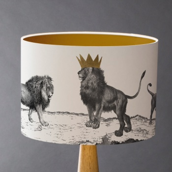 Sample Pride of Lions Lampshade
